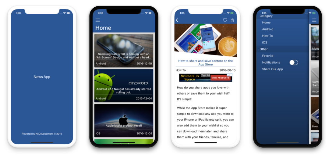 News App - iOS App for WordPress Blog/Magazine - 1