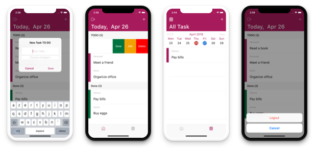 TODO App - iOS App For Task List (Online Storage Parse) Download