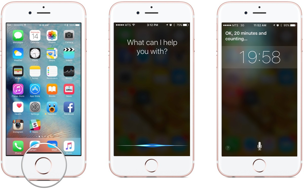 How to set a timer with Siri