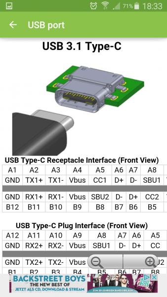 مواصفات منفذ USB Type-C وشكله
