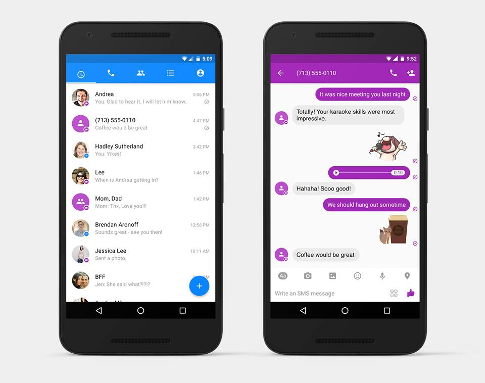 facebook messenger -sms-1