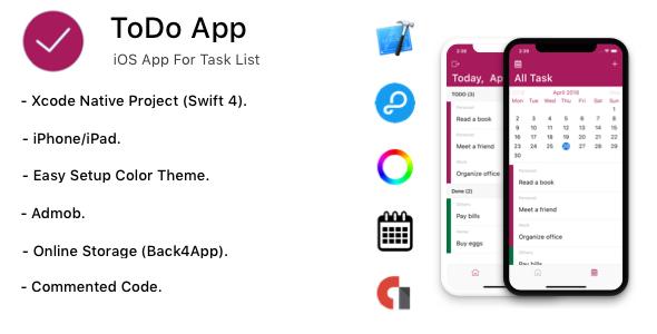 TODO App - iOS App For Task List (Local Storage) - 6